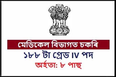 Assam Grade- IV Online Form 2020