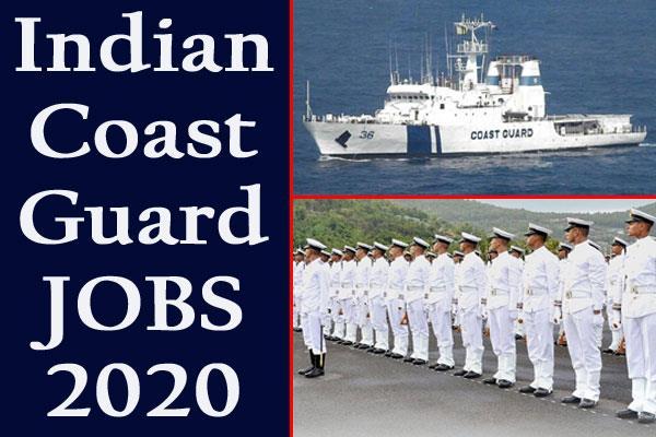 Coast Gaurd Navik DB 01/2020 Result