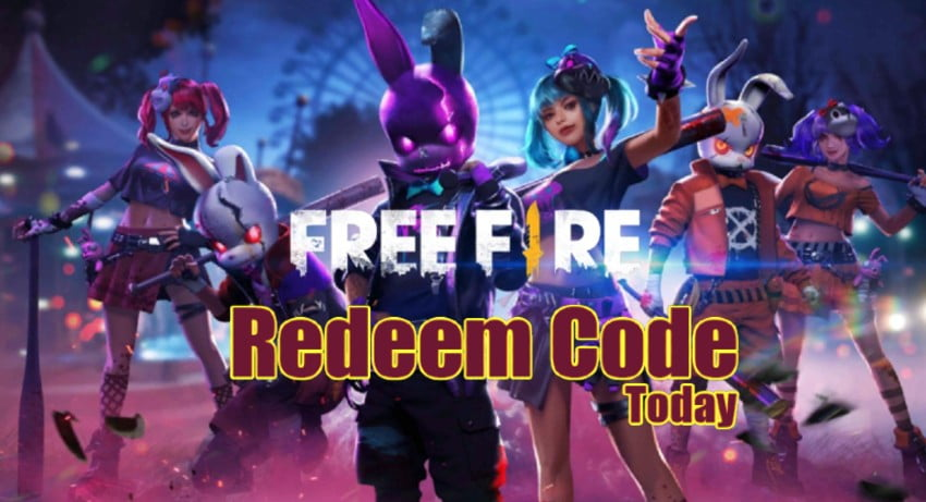 Free Fire Redeem Code Today 15 August 2021 India, Singapore & Europe Servers