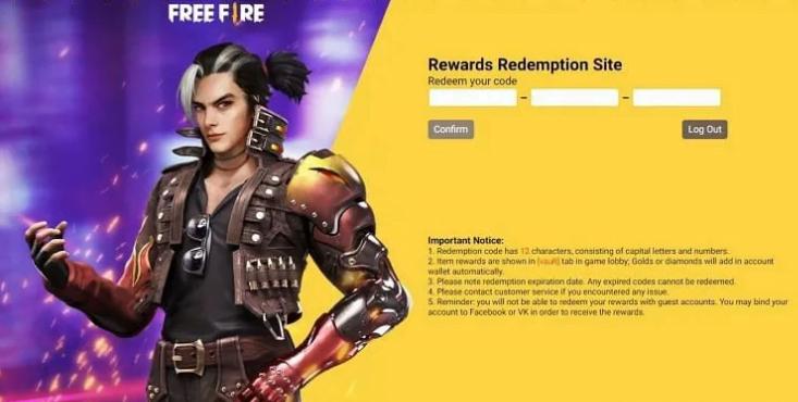 Free Fire Reward