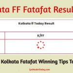 Kolkata Fatafat Winning Tips Today 2021 with Live Result & Lucky Number