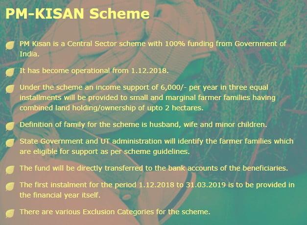 PM Kisan Scheme