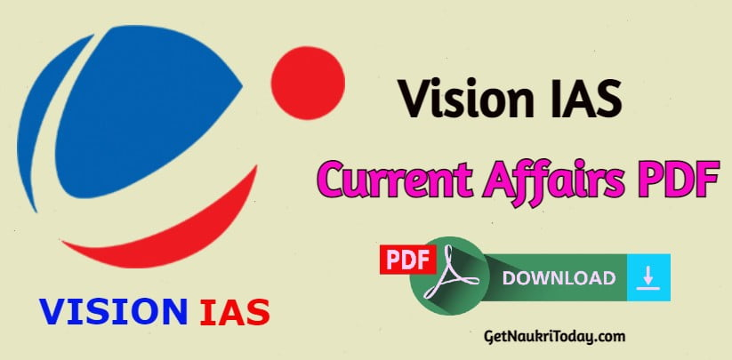 Vision IAS Current Affairs in Hindi 2021 PDF Free Download