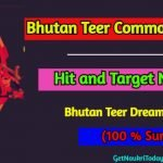 Bhutan Teer Common Number Hit and Target Number (100% Sure) Check Now