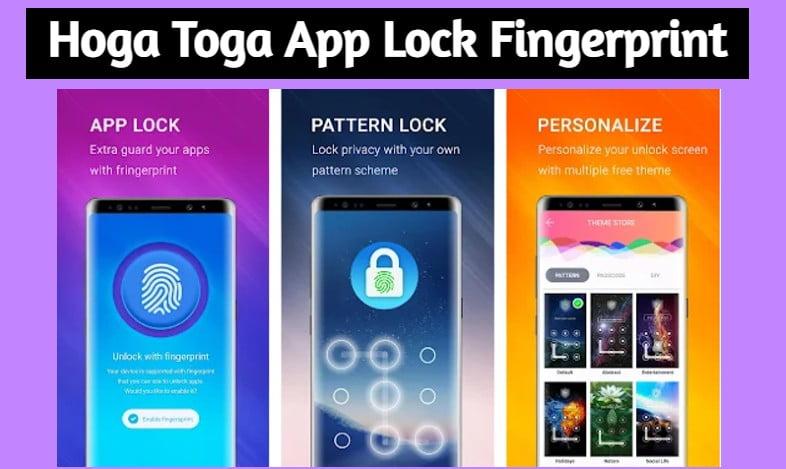 Hoga Toga App Lock Fingerprint