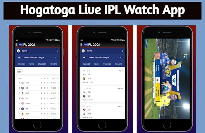 HogaToga Live IPL Watch App Download