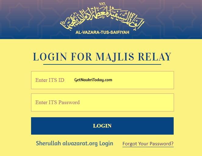 Sherullah alvazarat.org Login 2021 - majlis.amalat.com